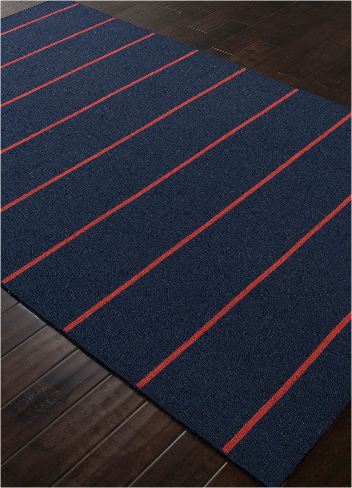 Red and Blue Striped Rug Cape Cod Navy Blue and Red Striped Rug Coastal Living Rug