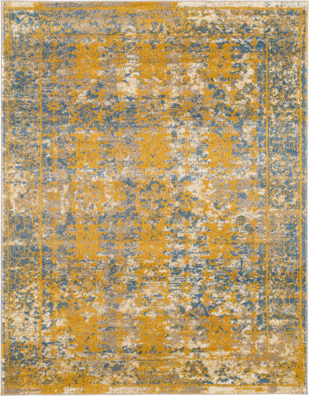 Rugs Yellow and Blue Modern Loom Sanya Sna 4 Yellow Blue Rug From the assorted