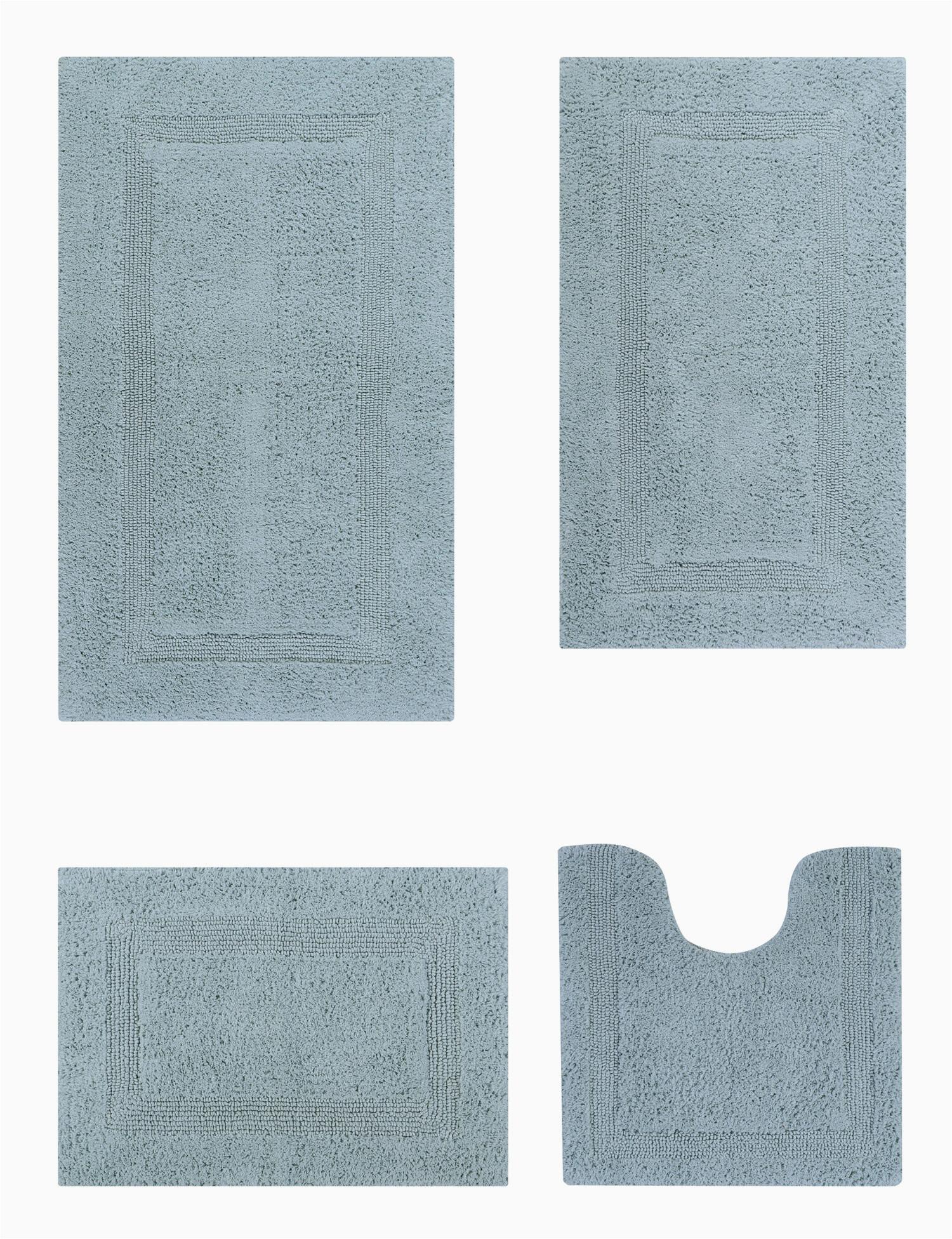 ebern designs 4 piece adelen ultra soft plush and absorbent 100 cotton bath rug set w004267929