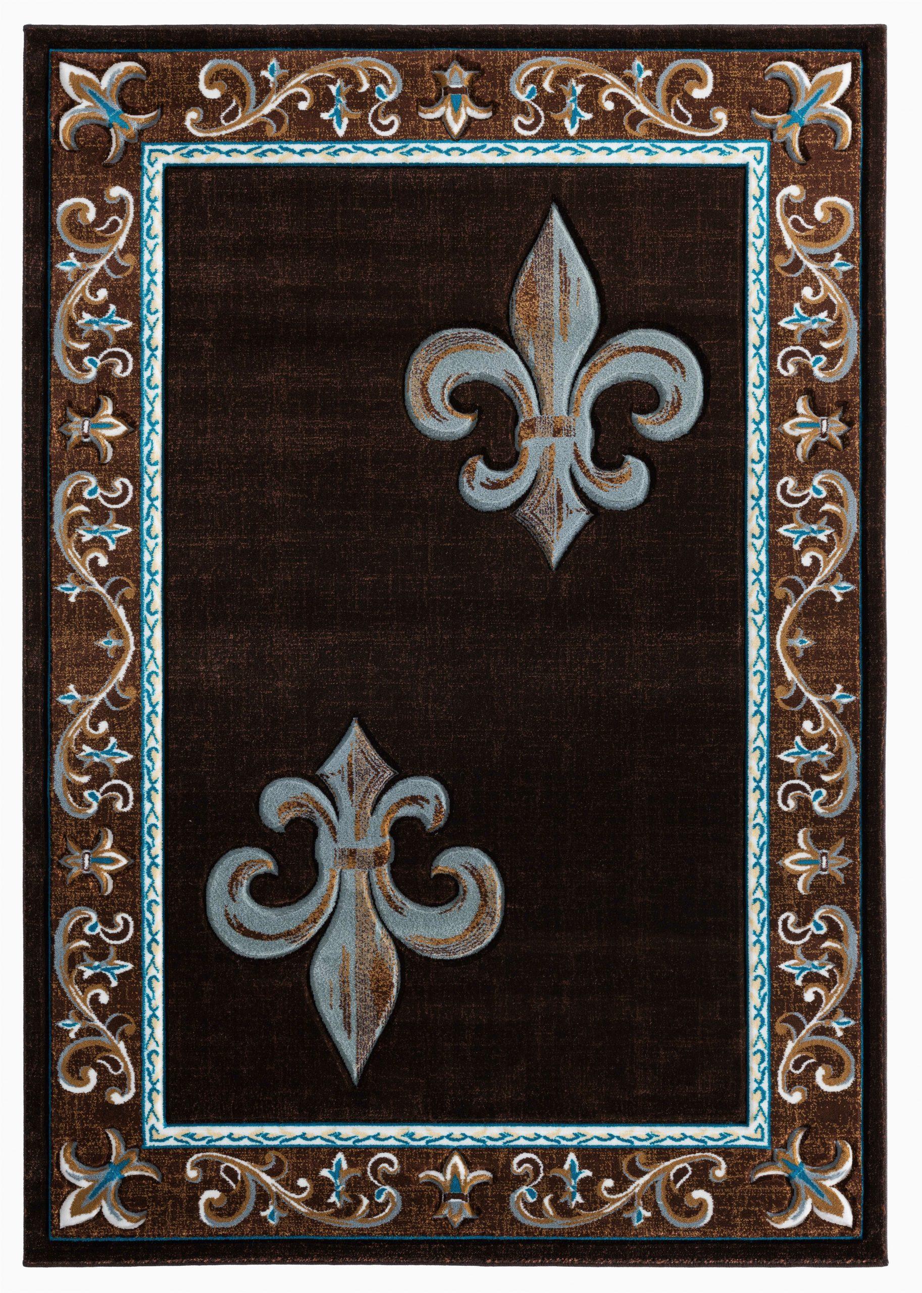 blanken blackbrownteal rug