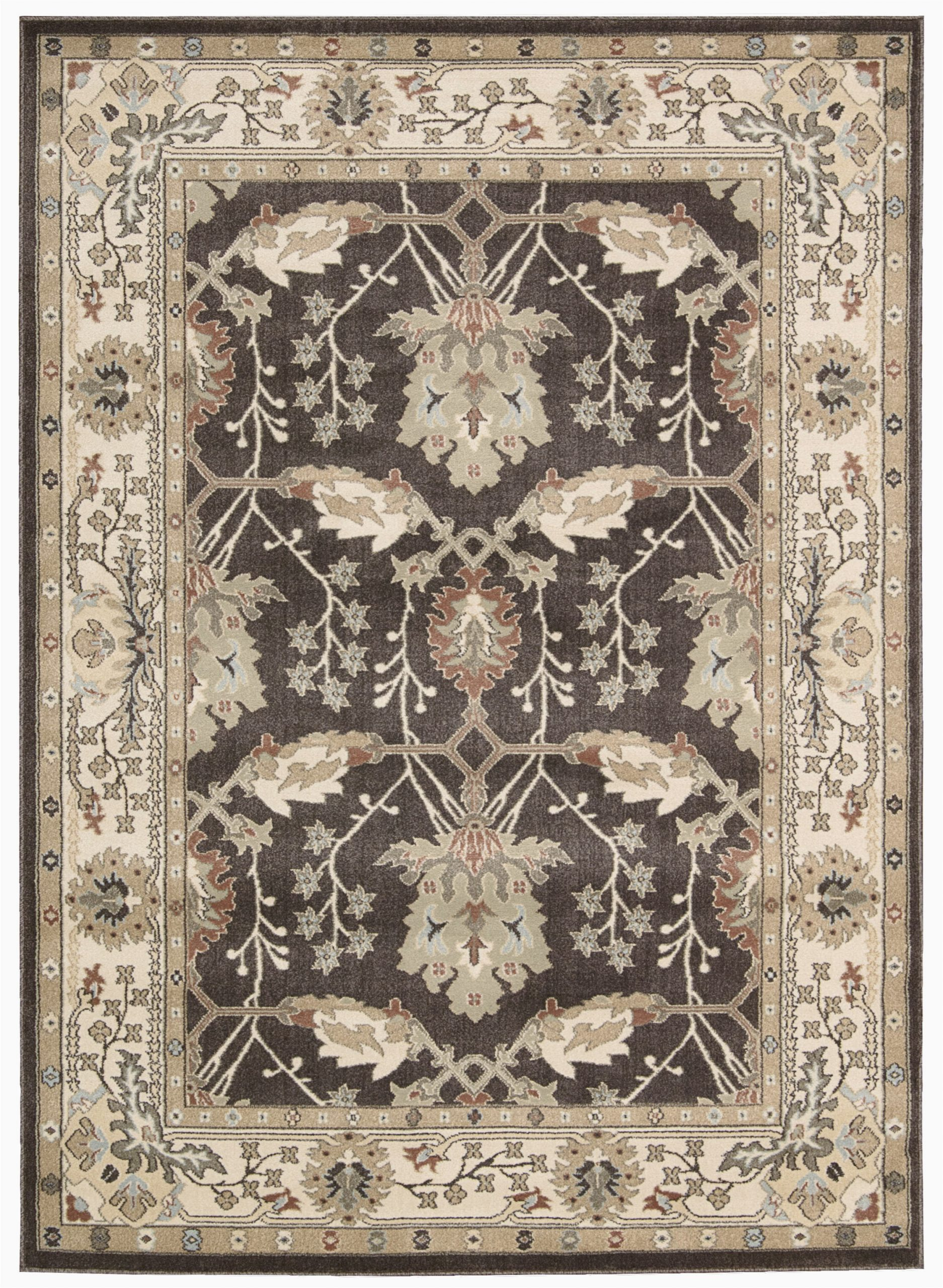 isabelle grayivory area rug