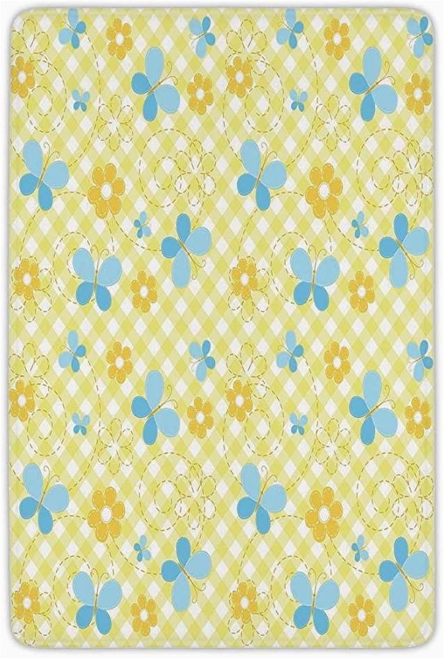 Light Yellow Bath Rug Bathroom Bath Rug Kitchen Floor Mat Carpetcheckeredkids