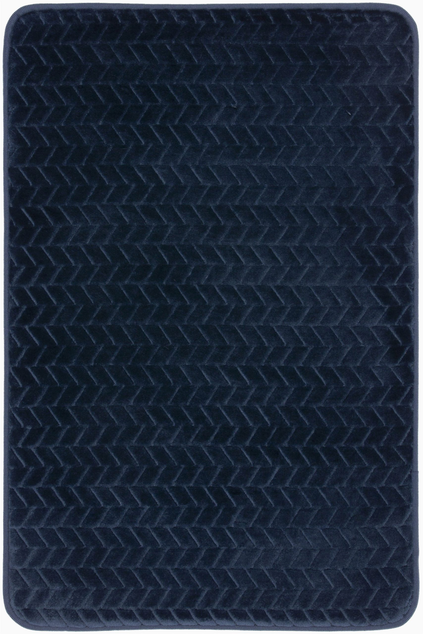 Mohawk Home Memory Foam Bath Rug Mohawk Memory Foam Bath Rug In Navy 18 X 27 Brickseek