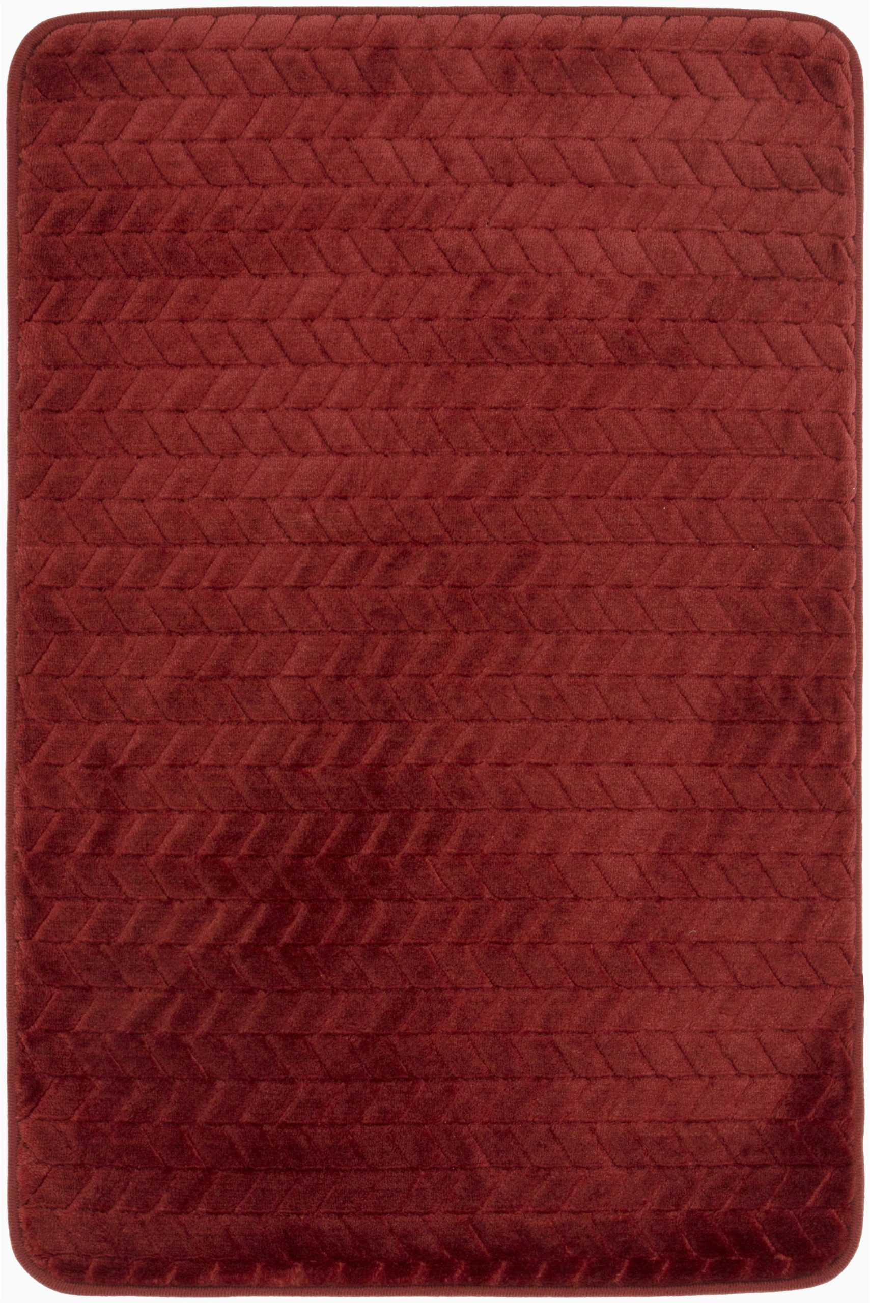 Mohawk Home Memory Foam Bath Rug Mohawk Memory Foam Bath Rug In Red 18 X 27 Brickseek