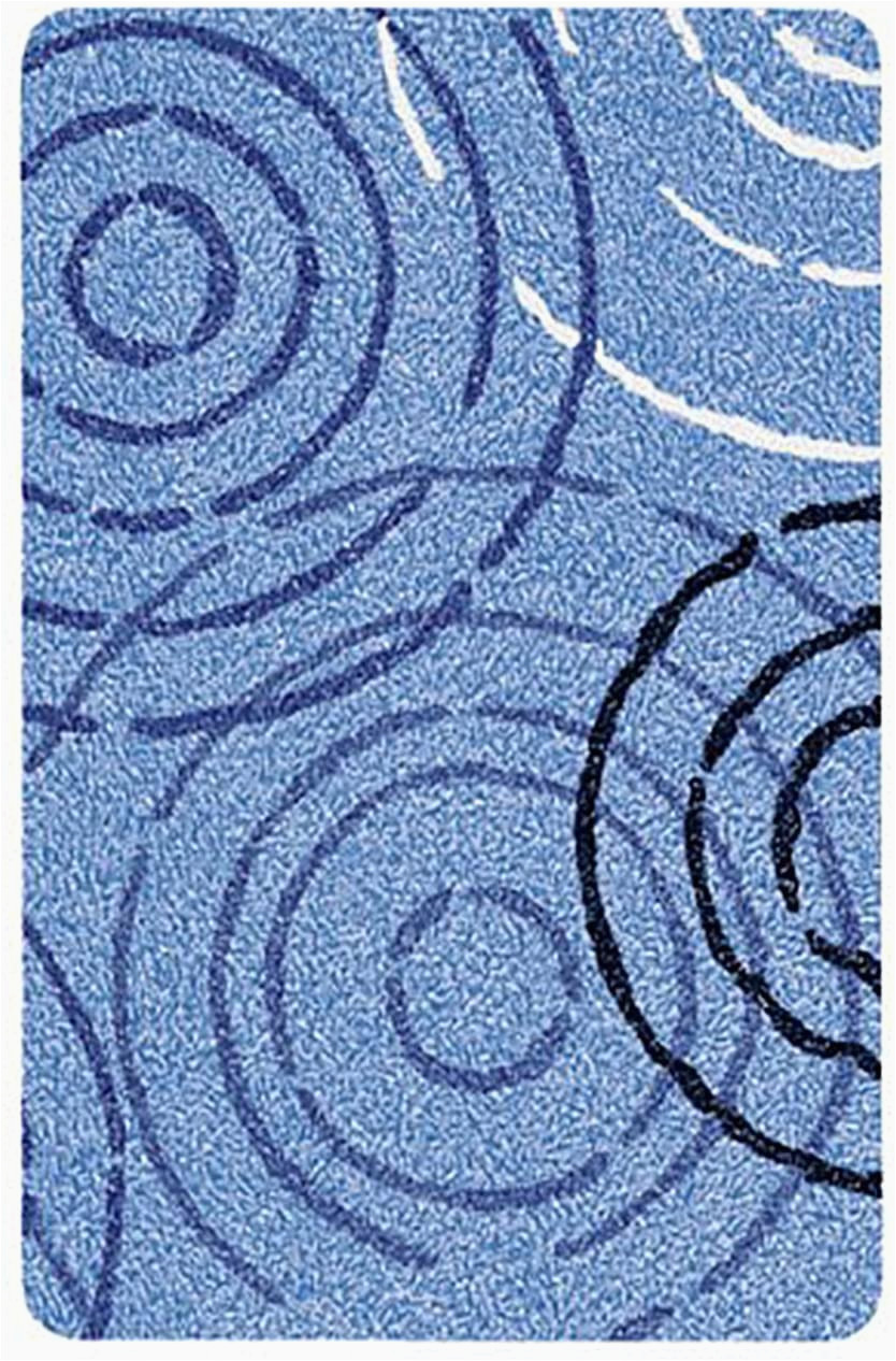 Sky Blue Bath Rug Kleine Wolke Luxury Contemporary Splash Bath Rug 27 6×47 2in Sky Blue