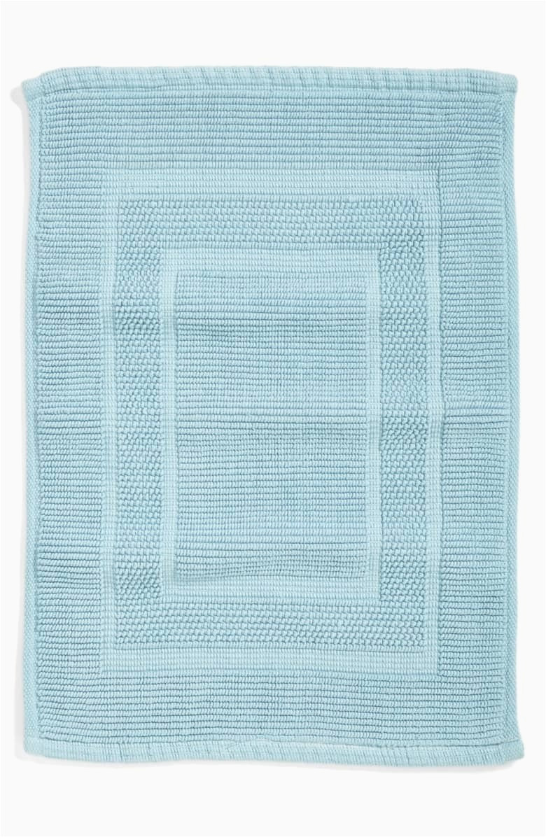 waterworks perennial reversible bath rug 19 x 26 sky blue