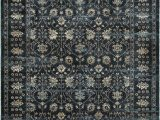 """10 Foot by 12 Foot area Rugs 501l Color Navy Ivory Size 9 10"""" X 12 10"""""""