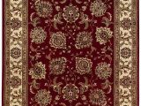 10 Foot by 12 Foot area Rugs oriental Weavers Indoor area Rug In Red 12 Ft 7 In L X 10 Ft W