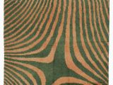 "10 X 11 area Rug Green orange New Turkish Tulu area Rug 7 10"" X 11 2"" 94 In X 134 In"