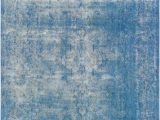 10 X 12 Blue area Rugs 10 X 13 Vintage Overdyed Blue Wool Rug