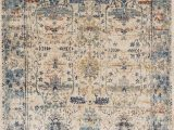 10 X 12 Blue area Rugs Allure Affection