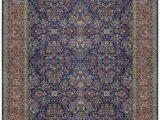 "10 X 13 area Rugs Lowes E Of A Kind Mahajaran Handwoven 12 X 18 6"" Wool Purple Blue area Rug"