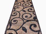 10 X 15 area Rug Cheap Americana Modern Long Runner Contemporary area Rug Brown & Black Carpet King Design 154 32 Inch X 15 Feet 10 Inch