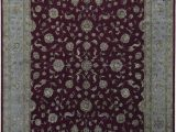 """10 X 15 area Rug Cheap E Of A Kind Dharma Hand Knotted 11 10"""" X 15 Wool Silk Red area Rug"""