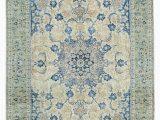 10 X 16 area Rug 10×16 Blue Vintage area Rug 10—16 Blue