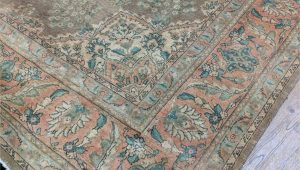 10 X 16 area Rug 10×16 Semi Antique Authentic oriental area Rug Wool Rug