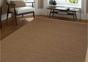 10 X 16 area Rug Hand Woven Modern Carpet Flat Weave Kilim Wool solid Cream 10×16 area Rug