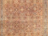 """10 X 17 area Rug E Of A Kind Mahal Hand Knotted Beige 12 10"""" X 17 Wool area Rug"""