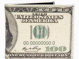 100 Dollar Bill area Rug Buyyourties Mens Usa Old $100 Dollar Bill Wallet Credit Card Holder and Id Display Walmart