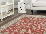 10×10 area Rugs Near Me Traditional Hand Tufted Wool area Rug 10×10 oriental Red Beige Carpet