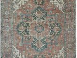 """11 by 13 area Rugs E Of A Kind Hand Knotted Brown 9 11"""" X 13 9"""" Wool area Rug"""