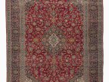 """11 by 13 area Rugs Vintage Hand Knotted oriental Rug 9 11"""" X 13 1"""" 119 In X 157 In"""