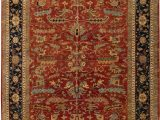 """11 by 15 area Rugs E Of A Kind Heriz Hand Knotted 11 11"""" X 15 Wool Red area Rug"""