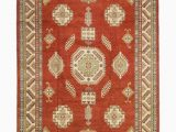 11 by 15 area Rugs solo Rugs Kazak 14 Hand Knotted area Rug 11 X 15 3