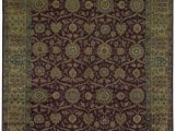 """11 X 17 area Rugs E Of A Kind Hand Knotted Red Brown 11 X 17 1"""" area Rug"""
