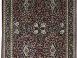 """11 X 17 area Rugs E Of A Kind Jahan Handwoven 11 9"""" X 17 9"""" Wool Red Gray area Rug"""