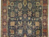 """11 X 17 area Rugs E Of A Kind Magnolia Handwoven 11 11"""" X 17 Wool Blue Brown area Rug"""