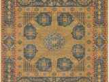 "11 X 18 area Rug Bridgeport Home Wilder Wld3 Navy Blue 10 X 11 4"" Square"