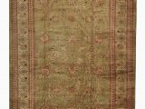 12 by 18 area Rugs 12 X 18 Oushak Light Green Wool area Rug