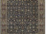 """12 by 18 area Rugs E Of A Kind sona Hand Knotted Brown Black 12 1"""" X 18 6"""" Wool area Rug"""