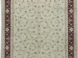 12 X 12 Square area Rug E Of A Kind Elegance Hand Knotted Red Beige 12 X 15 area Rug