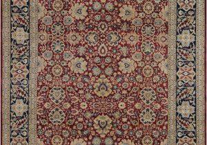 12 X 13 area Rug 9 X 13 Cherry Ivory Peshawar Ziegler Rug