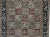 """12 X 13 area Rug E Of A Kind Mountain King Hand Knotted Brown 10 X 13 7"""" Wool area Rug"""