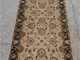 "13 by 15 area Rugs Chobi Beige Runner Hand Knotted 2 9"" X 9 7"" area Rug 700"