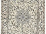13 by 15 area Rugs Cream 9 11 X 13 7 Nain Persian Rug