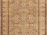 "13 by 15 area Rugs E Of A Kind Lavar Hand Knotted Brown 13 9"" X 15 4"" Wool area Rug"