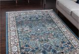 13 X 20 area Rugs Unique Loom Traditional 13 Feet by 20 Feet 13 X 20 Narenj Blue area Rug