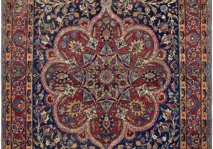 13 X 21 area Rug Tabriz Red Antique 10×13 area Rug In 2020