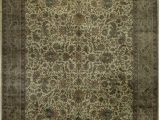 """14 X 18 area Rugs E Of A Kind Bikaner Coll Handwoven 12 1"""" X 18 Wool Brown area Rug"""