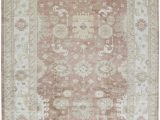 14 X 18 area Rugs E Of A Kind Demirji Oushak Hand Knotted White Brown 10 X 14 Wool area Rug
