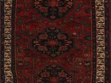 """16 X 20 area Rugs Heriz Red Runner Hand Knotted 3 3"""" X 16 9"""" area Rug 251"""