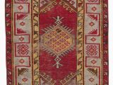 """16 X 20 area Rugs Turkish Vintage area Rug 2 7"""" X 3 11"""" 31 In X 47 In"""