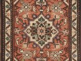 """18 X 24 area Rug E Of A Kind Yacoubou oriental Hand Knotted 1 8"""" X 2 4"""" Wool Red area Rug"""