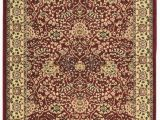2 by 3 area Rugs Elegance Collection 2 X 3 area Rug In Red Ivory Linon Rug Ee0123