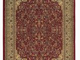 2 by 3 area Rugs Elegance Collection 2 X 3 area Rug In Red Ivory Linon Rug Ee0523