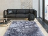 2 Inch Pile area Rug Glorious Collection 2 Inch Pile Large Shag area Rug Silver